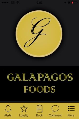 Galapagos Foods, London screenshot 1
