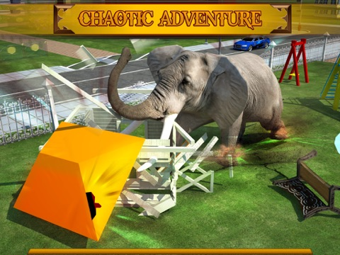 Screenshot #6 pour Angry Elephant Attack 3D