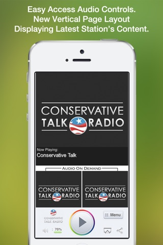 Conservative Talk screenshot 1