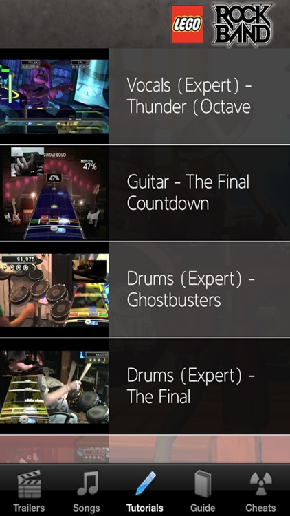 Game Cheats - The Lego Rock Band Hard Bass Challenges Edition by Armando  Panlican