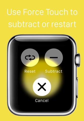 Plus+ — A simple tap counter for Apple Watch screenshot 3