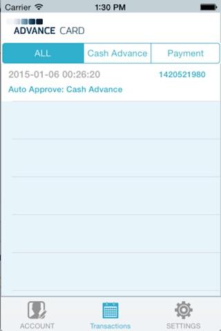 Advance Card screenshot 4