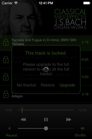 Bach: Organ Works screenshot 4