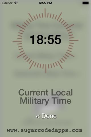 Military Time Converter screenshot 2