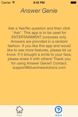 AnswerGenie - 5 second answers (Yes/No) screenshot 4