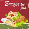 Cozinha europeia Livro de receitas. Rápido e fácil de Culinária melhores receitas e pratos.