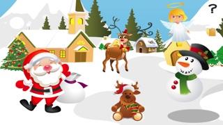 婴儿及儿童学习排序的圣诞动物按大小:教育游戏屏幕截图1