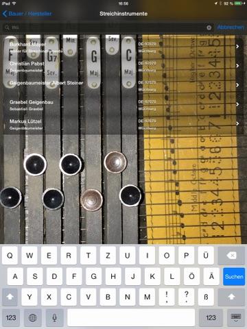 Guarneri - Verzeichnis der Musikinstrumentenbauer/-geschäfte in DE, AT & CH Screenshot