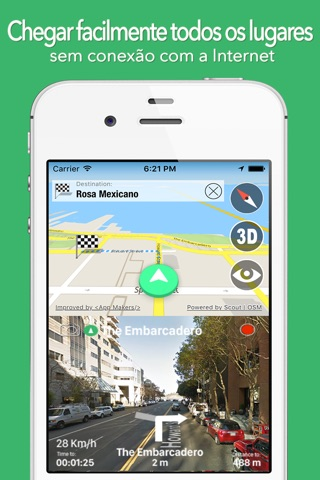 BigGuide Ecuador Map + Ultimate Tourist Guide and Offline Voice Navigator screenshot 1