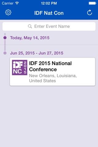 2015 IDF National Conference screenshot 2