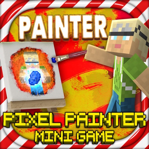 Pixel Painters - MC Block Paint Mini Game