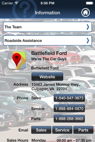 Battlefield Automotive screenshot 1