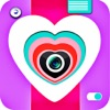 Heart Cam - A Love Photo Editor & Creator With Lol Stickers,Camera Effect & Cool Text on Valentine Pics