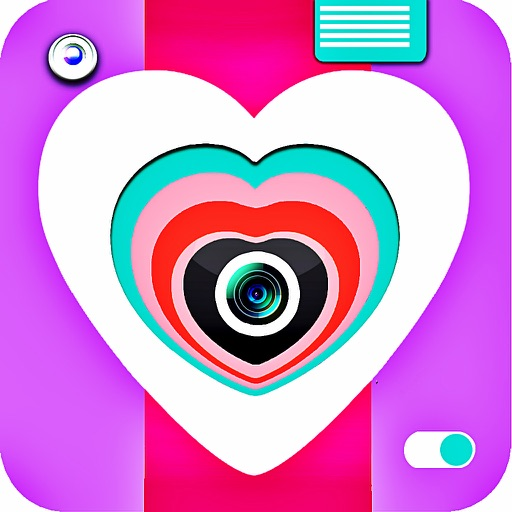 Heart Cam - A Love Photo Editor & Creator With Lol Stickers
