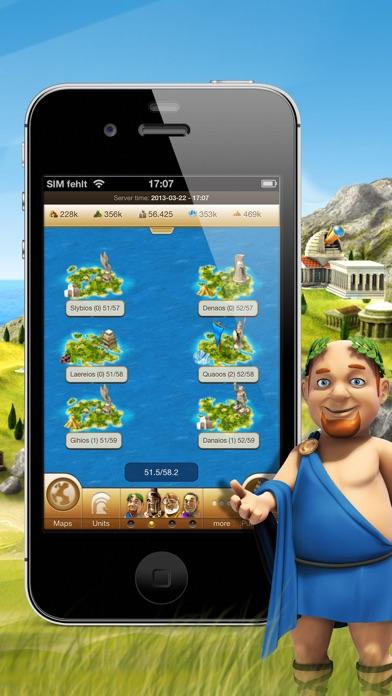 Screenshot of Ikariam Mobile5