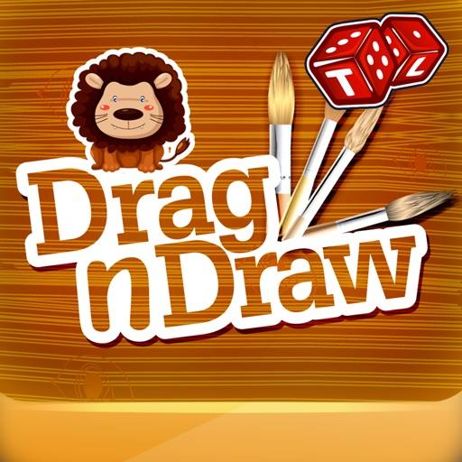 Drag n Draw Coloring Book iOS App