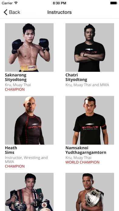 download Evolve MMA apps 1