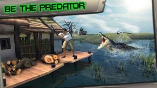 Screenshot #2 pour Swamp Crocodile Simulator 3D