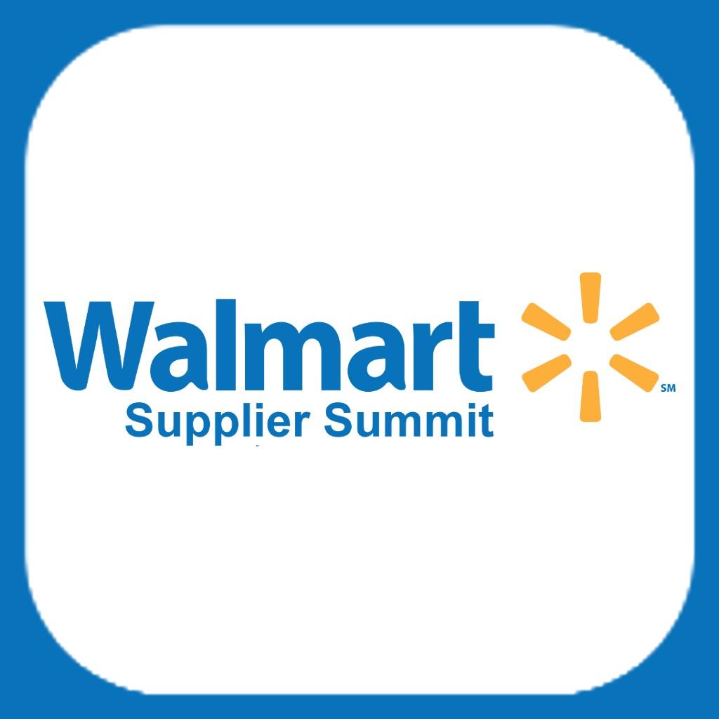 Walmart supplier summit on the app store
