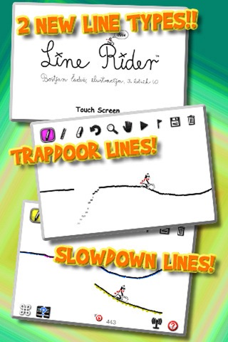 Line Rider iRide™ screenshot 1
