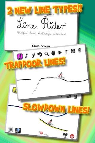 Line Rider iRide™ screenshot 1