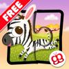 Rompecabezas de animales salvajes 123 para iPad Gratis