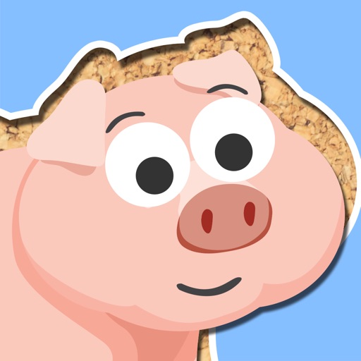 Free Play with Farm Animals Cartoon Jigsaw Game for toddlers and preschoolers iOS App