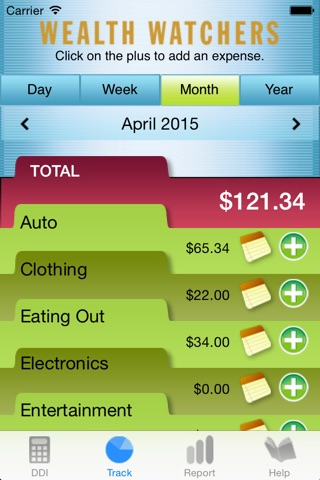 Wealth Watchers Budget Tracker screenshot 3