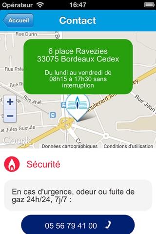 Gaz de Bordeaux screenshot 2