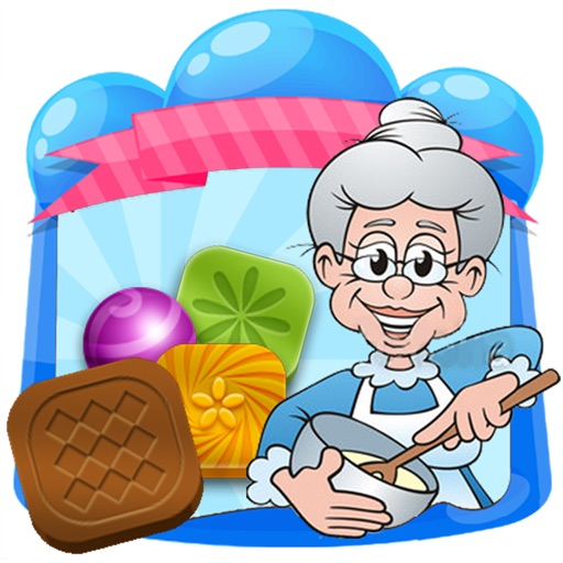 Happy Grandmother. Seriously addictive match3 game! iOS App