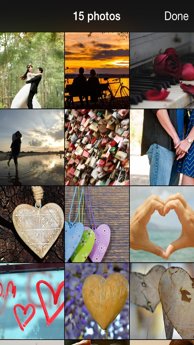 99 Wallpaper.s of Love - Beautiful Backgrounds and Pictures for Valentine-s Day screenshot two