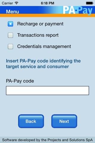 PA-Pay screenshot 2