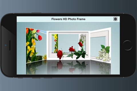 Flowers HD Photo Frames screenshot 2