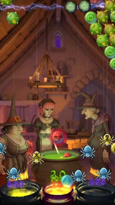 Screenshots of Bubble Witch Saga for iPhone