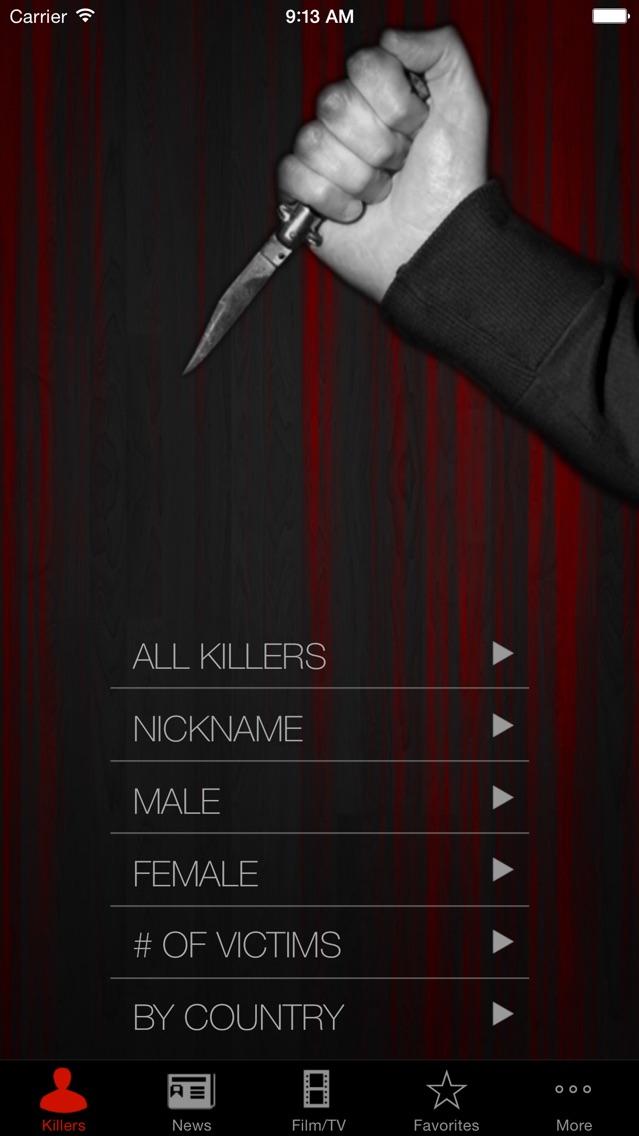 Библиотека преступлений серийных убийцСкриншоты 1