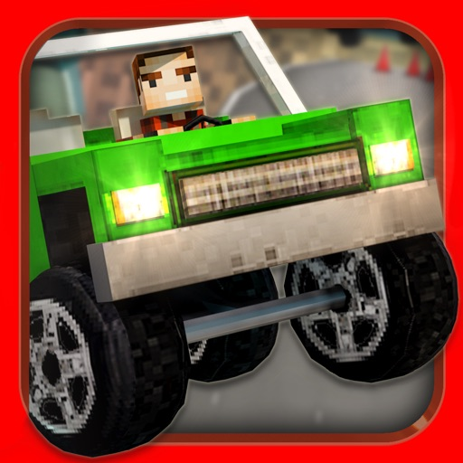 Crafting Cars . Free Hill Car Racing Game For Kids iOS App