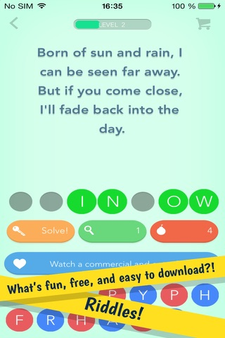 Riddles – The Fun Free Word Game with Hundreds of Riddles screenshot 1