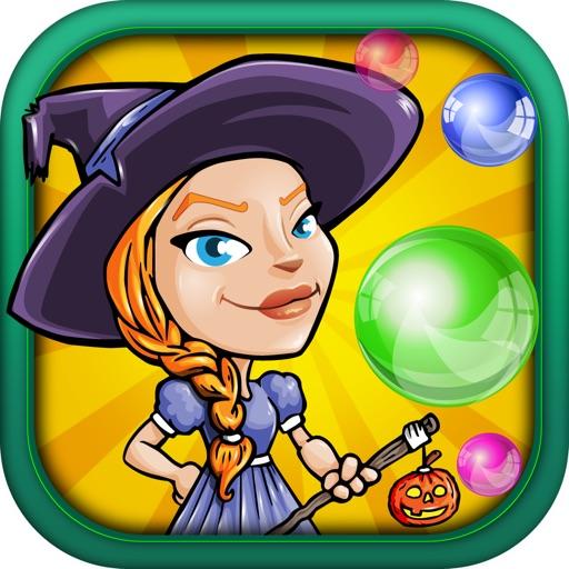 Falling Witch Bubble - Avoid Dropping Fizz Saga FREE iOS App