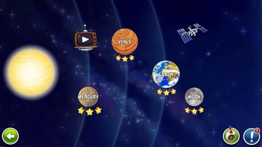Angry Birds Space Screenshot