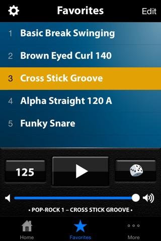 Drum Beats+ (Rhythm Metronome, Loops & Grooves Machine) screenshot 4