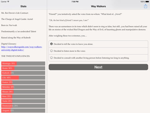 Way Walkers: University для iPad