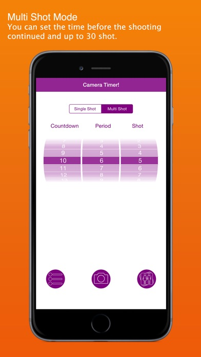 Camera Timer! on the App Store