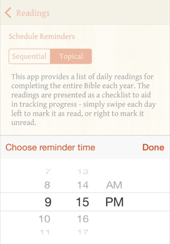 Bible Reading Plan screenshot 2