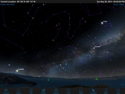 Starry Night College screenshot 1