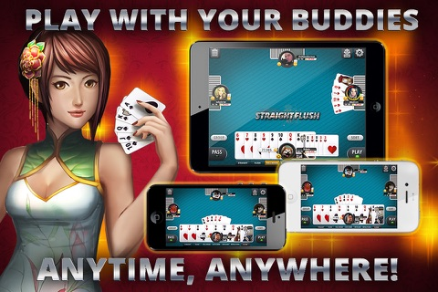Asian Poker - Big Two screenshot 3