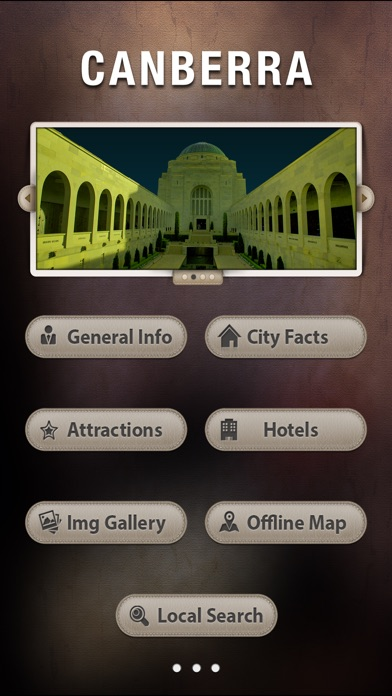 Canberra City Offline Tourism Guide screenshot two