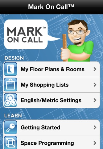 Home Design DIY Interior Room Layout Space Planning & Decorating Tool - Mark On Call for iPhone screenshot 3