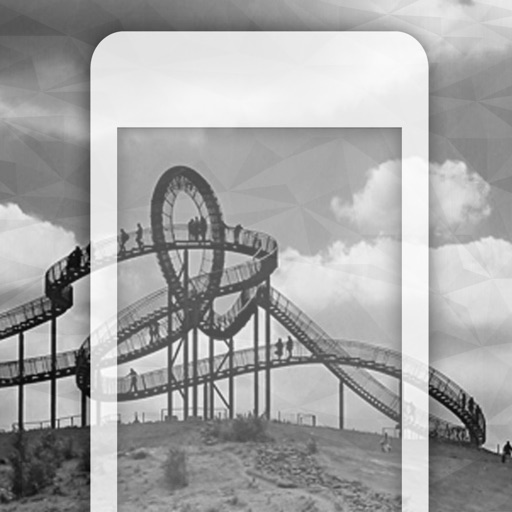 99 Wallpaper.s - Beautiful Phone Backgrounds and Pictures of the Black & White City iOS App