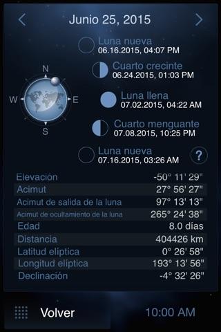 Deluxe Moon Pro - Moon Phases Calendar screenshot 2