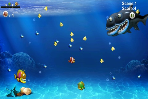 Jiglo Fish - Adventurous Eatfish Game screenshot 2